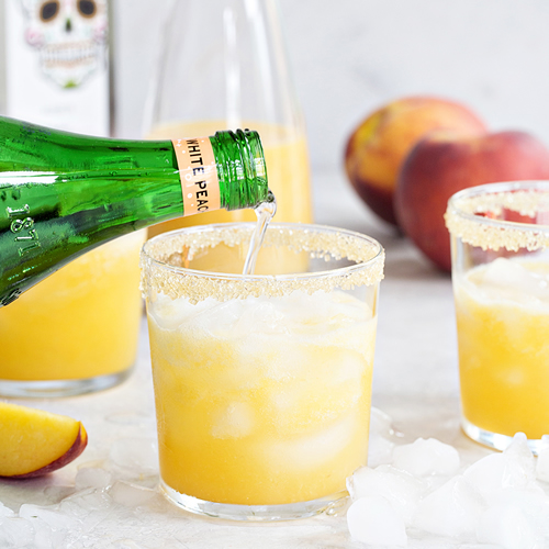 My Baking Addiction - Skinny Peach Margarita