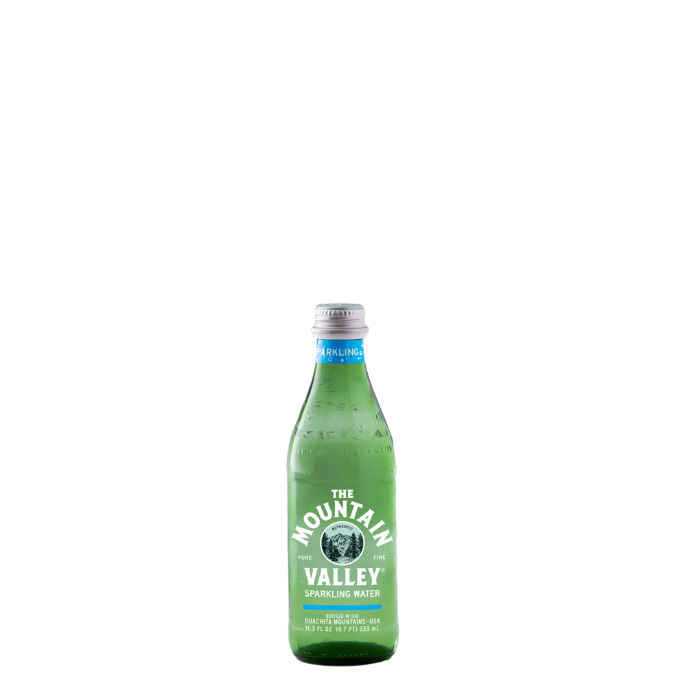 333 mL Sparkling Water in Glass
